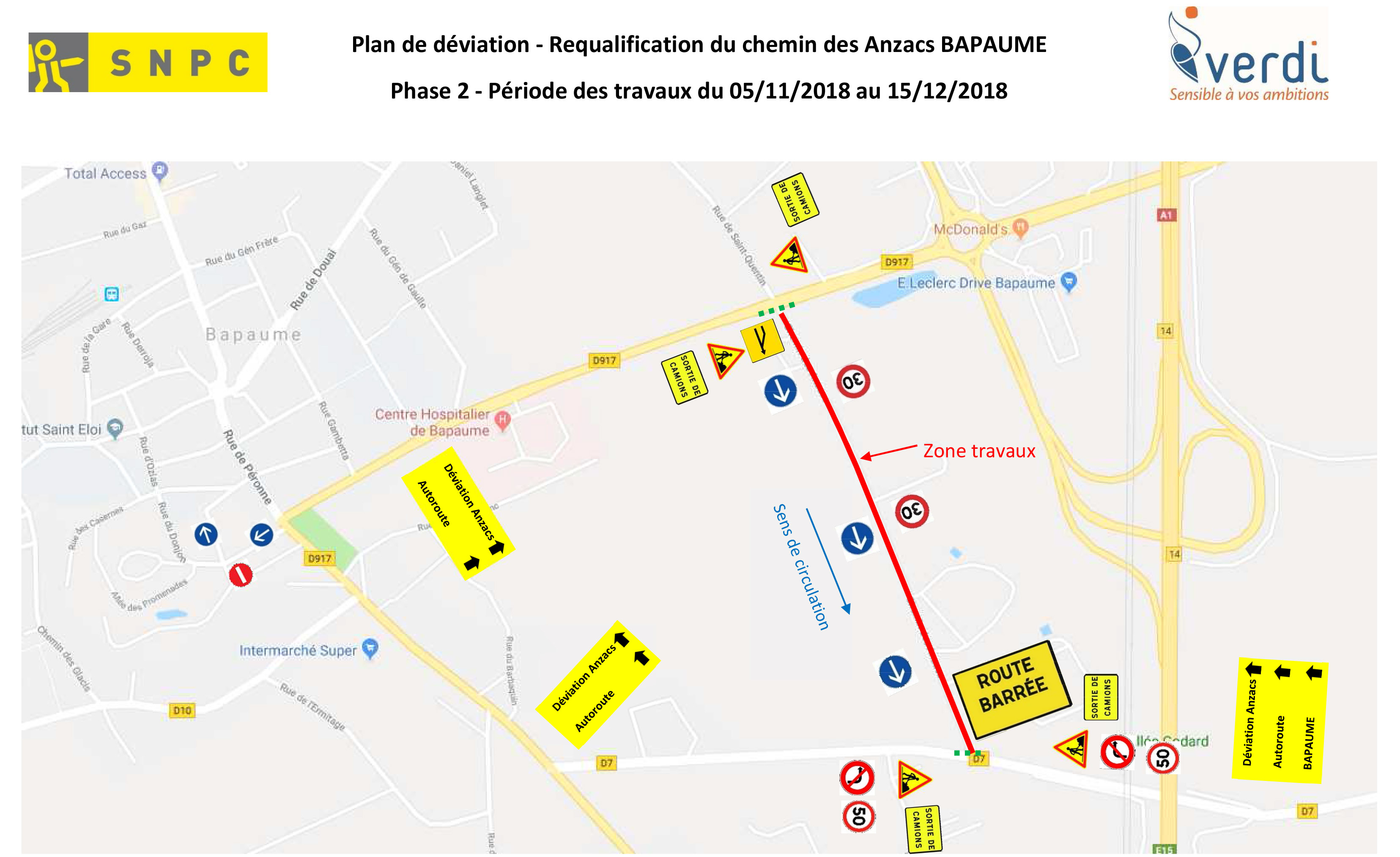 Plan de circulation   Phase 2